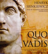 Quo Vadis - unabridged audiobook on CD
