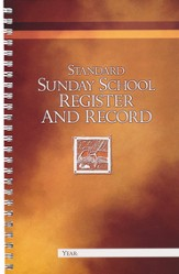 Standard Sunday School Register and Record