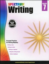 Spectrum Writing Grade 7 (2014 Update)