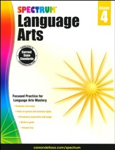 Spectrum Language Arts Grade 4 (2014 Update)