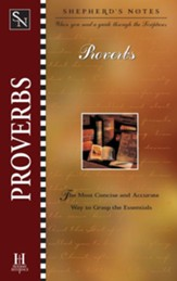 Shepherd's Notes on Proverbs - eBook