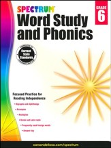 Spectrum Phonics & Word Study Grade 6 (2014 Update)
