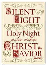 Silent Night Holy Night Cards, 12