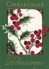 Christmas Blessings Cards, 12