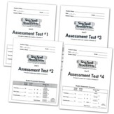 Sing, Spell, Read & Write Level 2 (Grand Tour) Assessment Booklets (4 booklets)