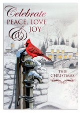 Celebrate, Peace Love Joy Cards, 12