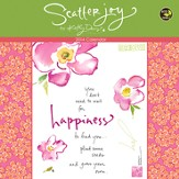 2014 Scatter Joy by Kathy Davis Wall Calendar