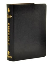 ESV Fire Bible, Genuine leather Black
