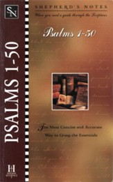 Shepherd's Notes on Psalms 1-50 - eBook