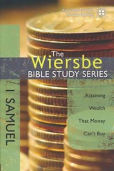 1 Samuel: The Warren Wiersbe Bible Study Series