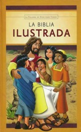 La Biblia Ilustrada Easy to Read Version (ERV) Children's Hard Cover