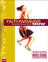 Faithweaver Now Middle School/Junior High Student Papers Bible Trek, Summer 2014