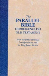 The Parallel Bible, Hebrew-English Old Testament  - Slightly Imperfect