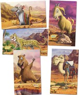 Giant Bible Memory Buddy Posters, set of 5