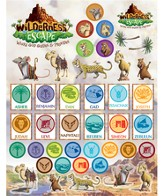 Sticker Sheets, 10 sheets