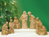 Holy Night Nativity Set, 6 Pieces