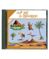 Wilderness Escape Clip Art & Resources--CD