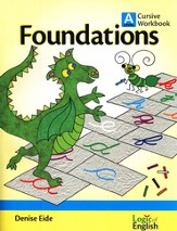 Foundations A, Cursive Workbook