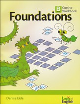 Foundations B, Cursive Workbook