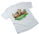 Wilderness Escape Theme Adult T-shirt, Small (34-36)