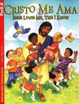 Libro de Colorear Cristo Me Ama  (Jesus Loves Me, This I Know Coloring Book)
