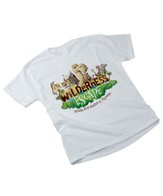 Wilderness Escape Theme Child T-shirt, Medium (10-12)