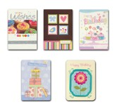 Birthday Wishes, Birthday Cards, Box of 10