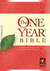 The One Year Bible NLT - eBook