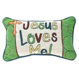 Jesus Loves Me Pillow
