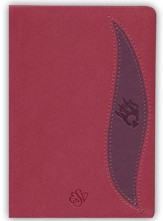 ESV Fire Bible Student Edition Imitation Leather brick  red/plum