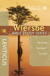 Leviticus: The Wiersbe Bible Study Series
