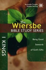 1 Kings, Wiersbe Bible Study