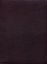 KJV Thompson Chain-Reference Bible, Burgundy  Genuine Leather, Capri Grain