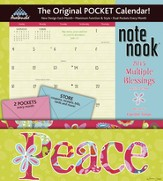 Multiple Blessings Plan-It 2015 Note Nook Wall Calendar