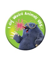 Weird Animals Buttons, pack of 30