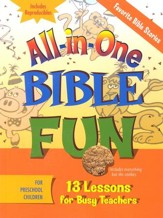 All-in-One Bible Fun: Stories of the Bible (Preschool edition)