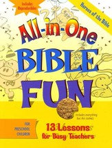 All-in-One Bible Fun: Heroes of the Bible (Preschool edition) - Slightly Imperfect