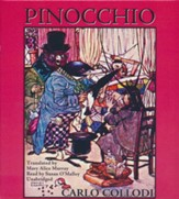 Pinocchio - unabridged audiobook on CD