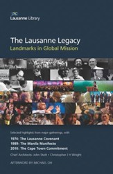 Lausanne Legacy: Landmarks in Global Mission  - Slightly Imperfect