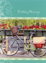 Bicycles, Birthday Cards, Box of 12