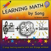Learning Math by Song Audio & PDF CD-ROM