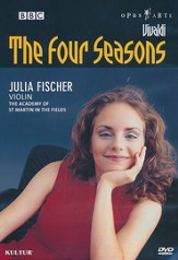 Four Seasons: Vivaldi/Julia Fischer Violin/The Academy of St. Martin in the Fields DVD