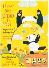 I Love You Head to Toe Activity Set