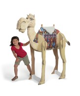 Giant Humphrey the Camel 3-D Display