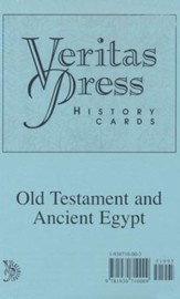 Veritas Press History Cards: Old Testament and Ancient Egypt
