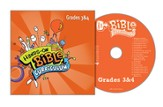 Hands-On Bible Curriculum Grades 3&4: CD, Fall 2014