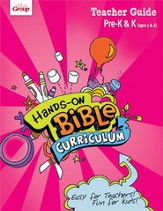 Hands-On Bible Curriculum Pre-K&K: Teacher Guide, Fall 2014