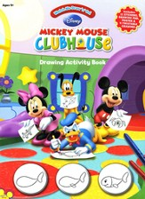 Mickey Mouse Clubhouse Drawing Activity Book