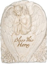 Bless This Home Plaque