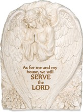 Serve the Lord Plaque